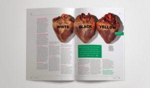 Tạp chí linh hoạt, táo bạo (Aggresive design)