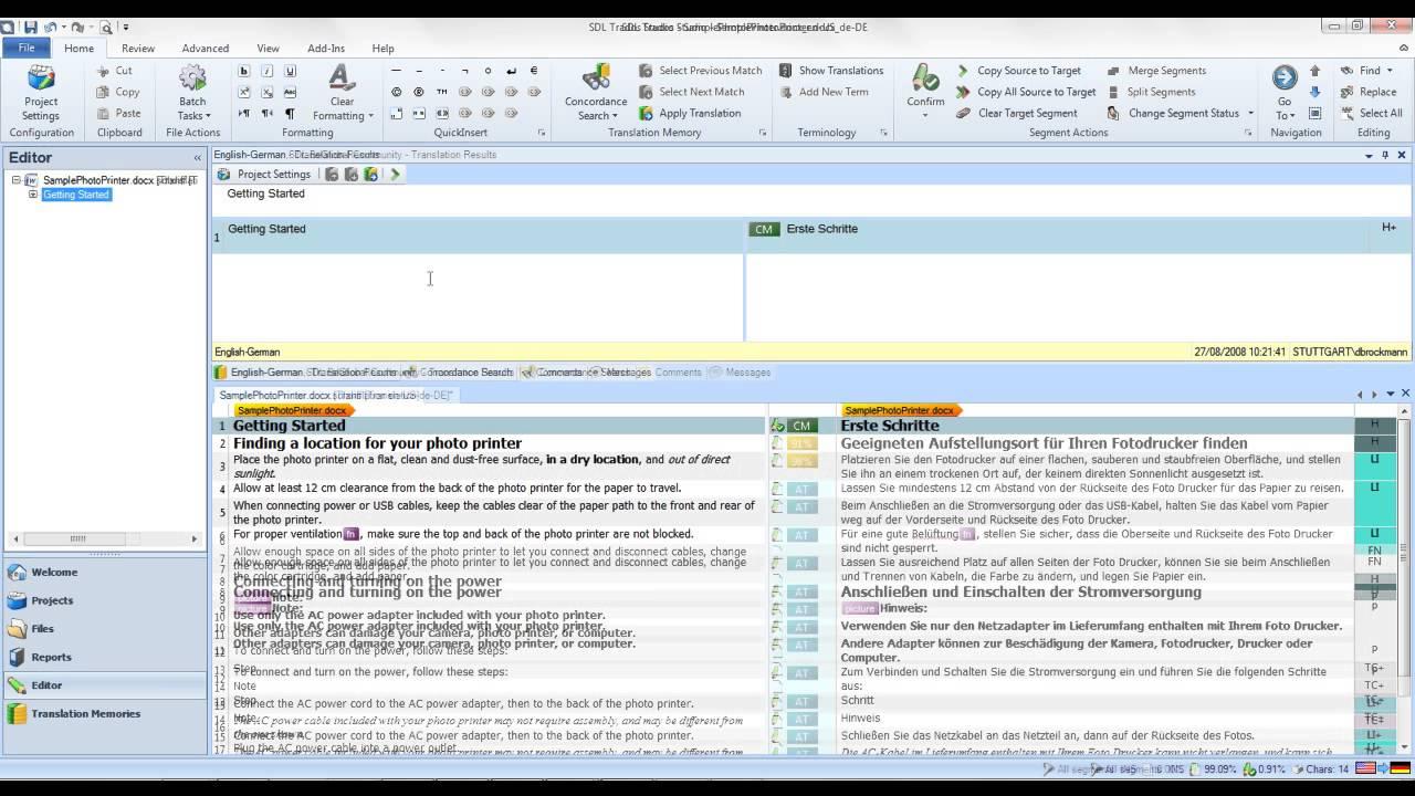 Hướng dẫn sử dụng phần mềm Trados 2011/2014