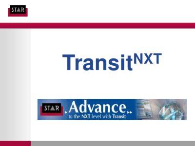 Phần mềm Transit NXT