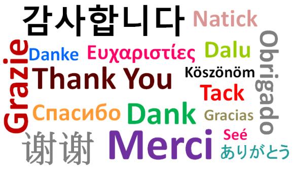 Ngôn ngữ được hỗ trợ trong Trados 2014