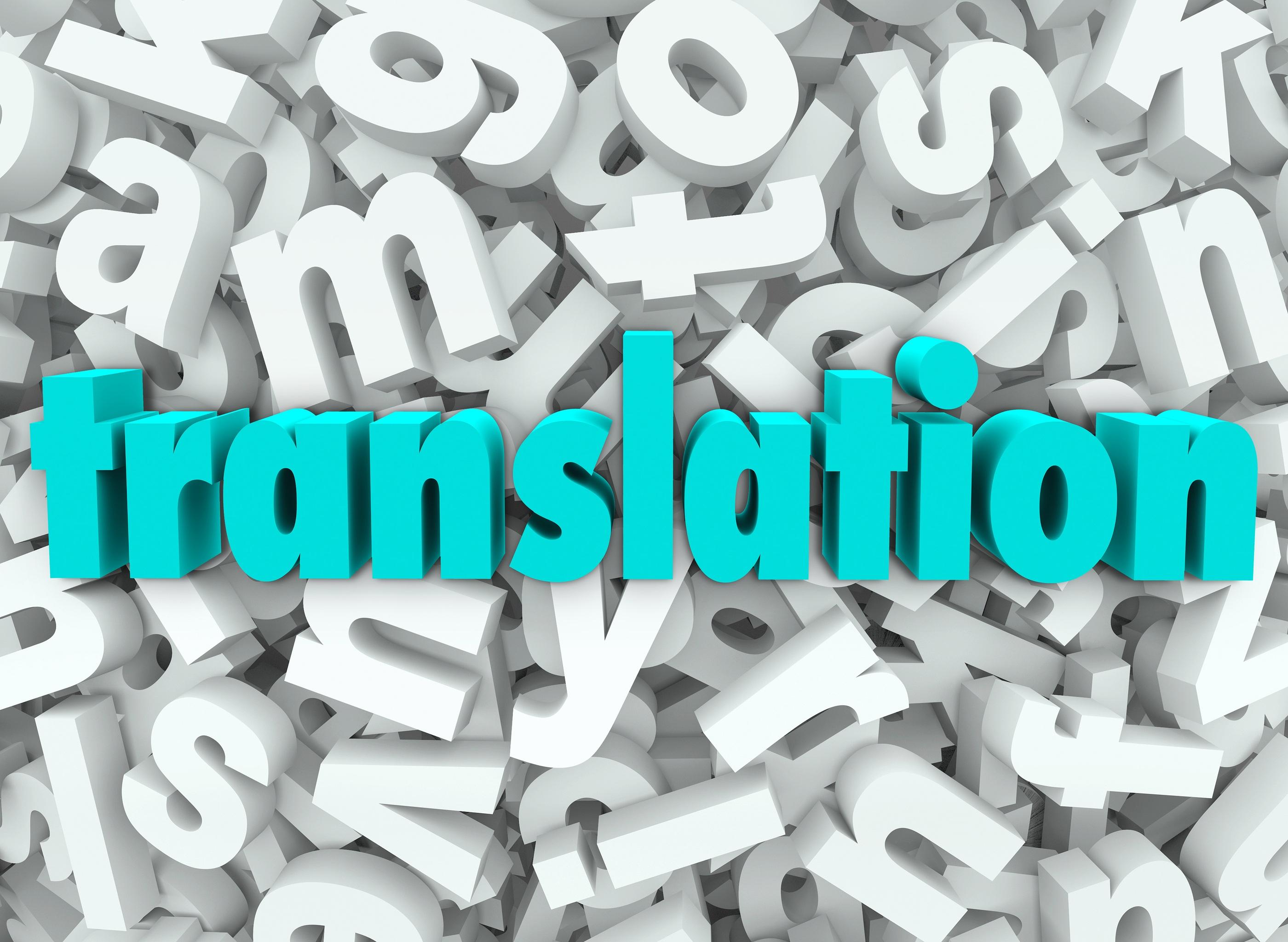 Dịch vụ dịch thuật