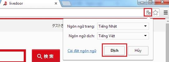 Dịch website sang tiếng Việt