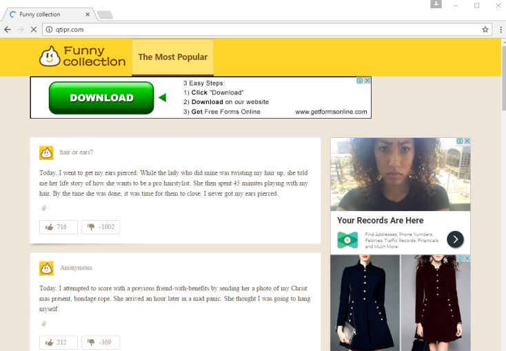 Cách xóa Qtipr.com trên trình duyệt web