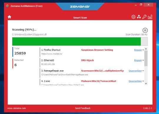 Zemana-AntiMalware-Free-Scanning-For-Malware